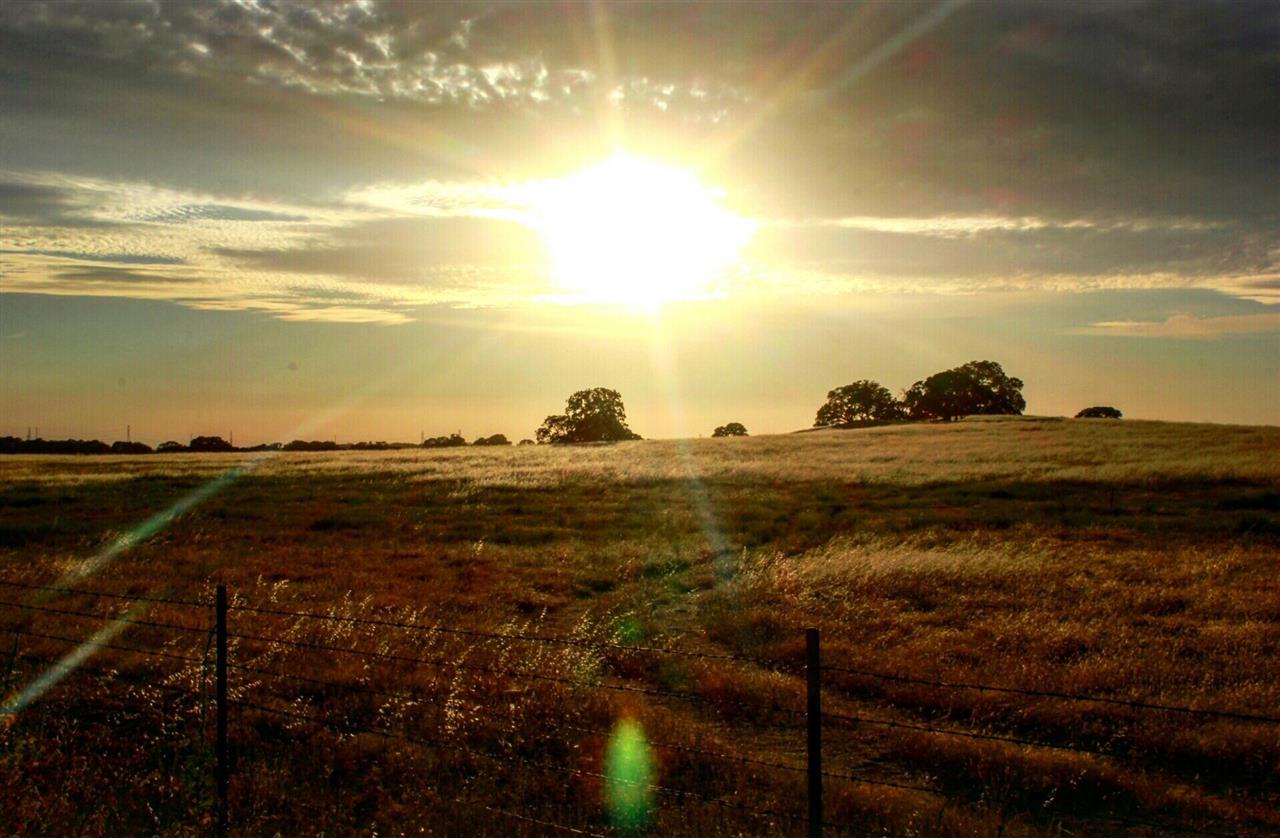 Rural Folsom sunset. #LyonRealEstate #LeadingRELocal