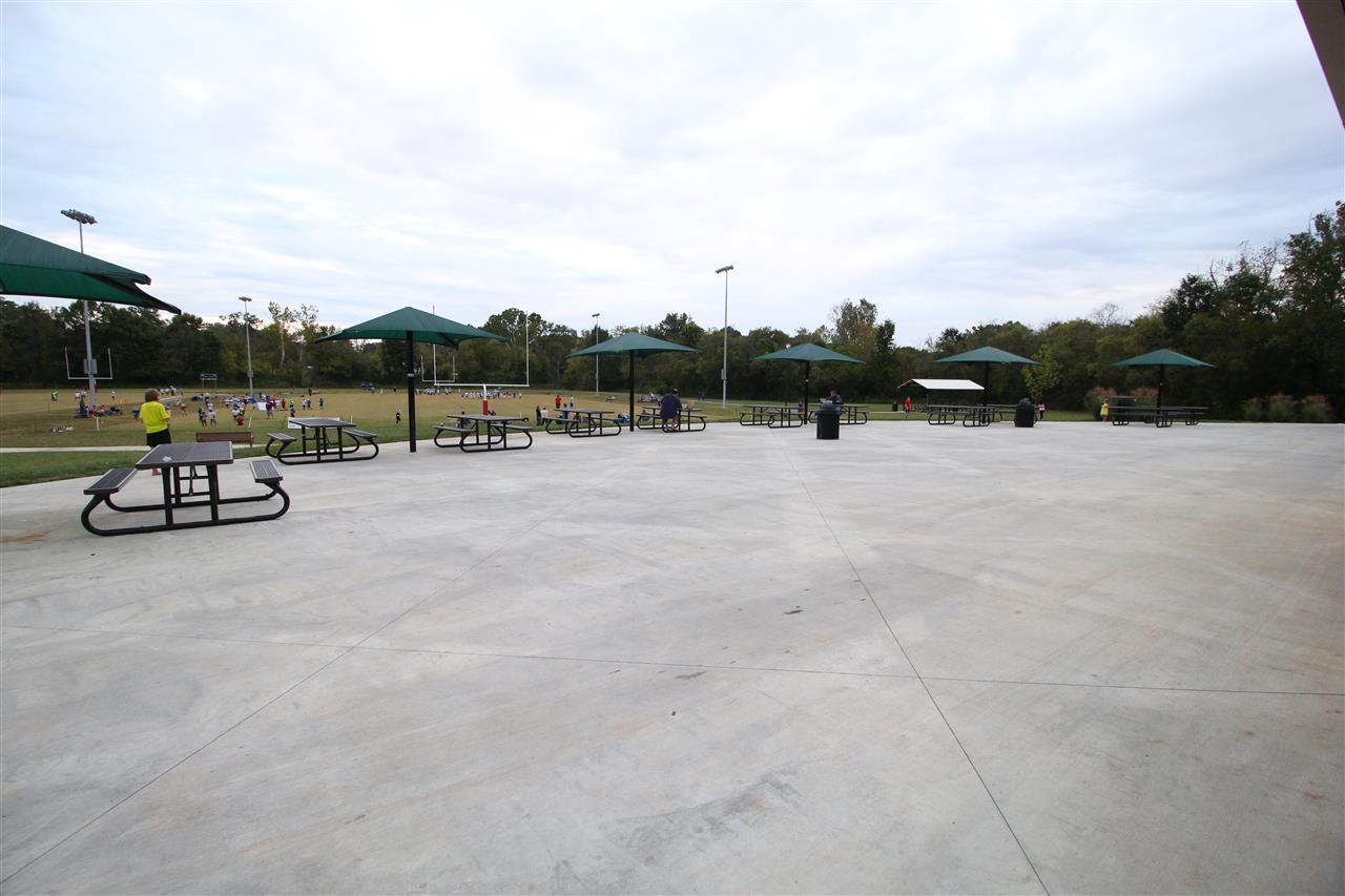 Sitting Area/Concessions Spring Hill Parks & Recreation ? Park Address: 4237 Port Royal Rd, Spring Hill, TN 37174