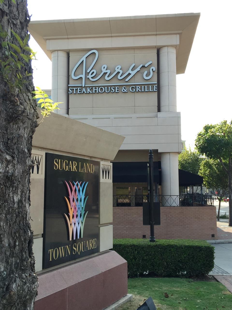 Perry's Steakhouse in Sugar Land's Town Square. Sugar Land, TX