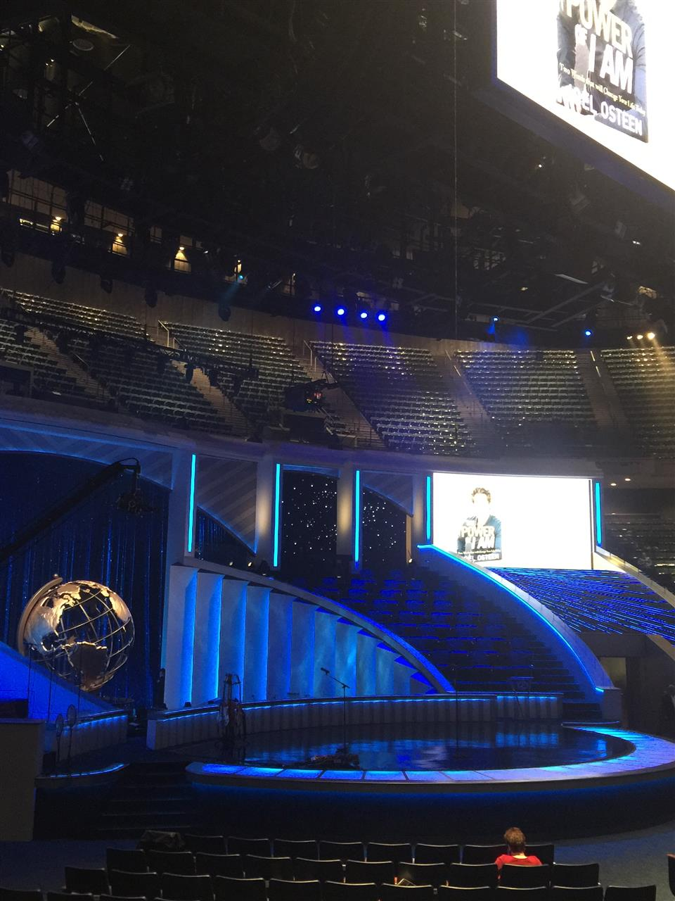 Sanctuary Lakewood Church Houston TX