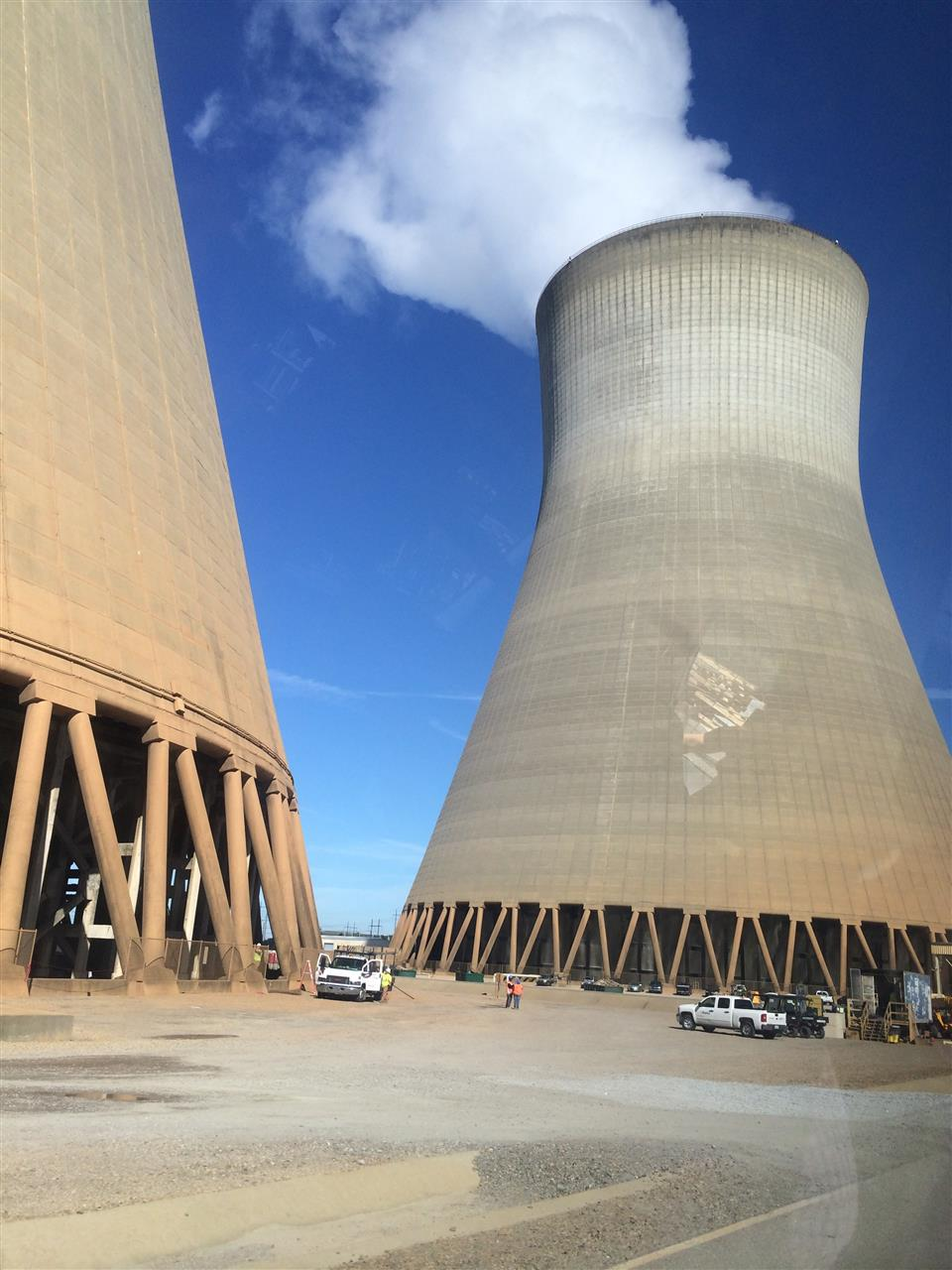 Plant Vogtle currently has two working nuclear reactors, but two more are under construction that will make Plant Vogtle the largest nuclear power plant in the United States.