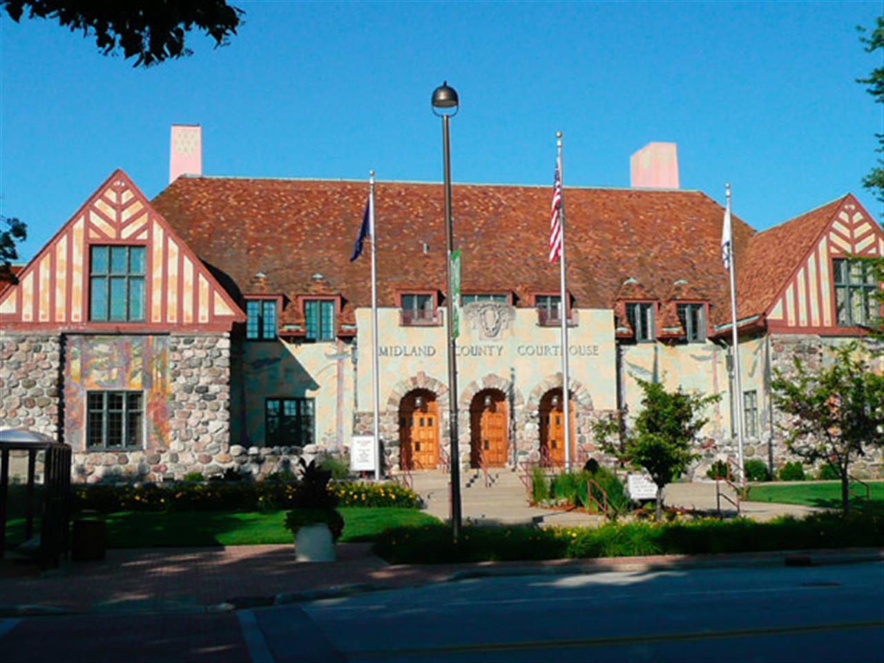 Midland County Courthouse, Midland, MI