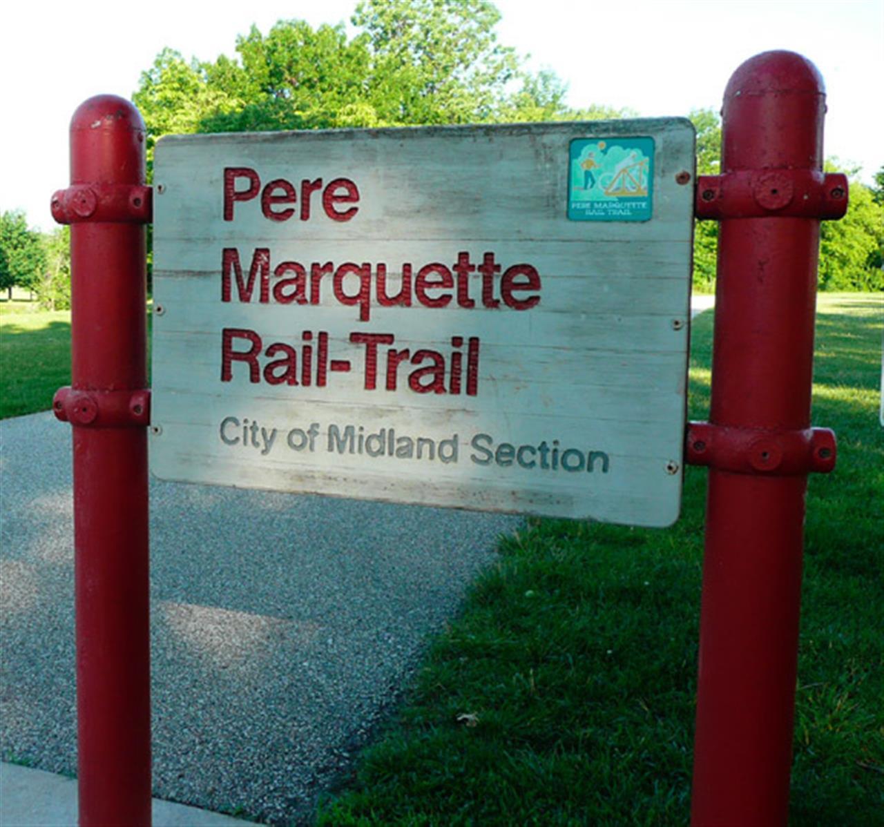 Pere Marquette Rail Trail, Midland, MI