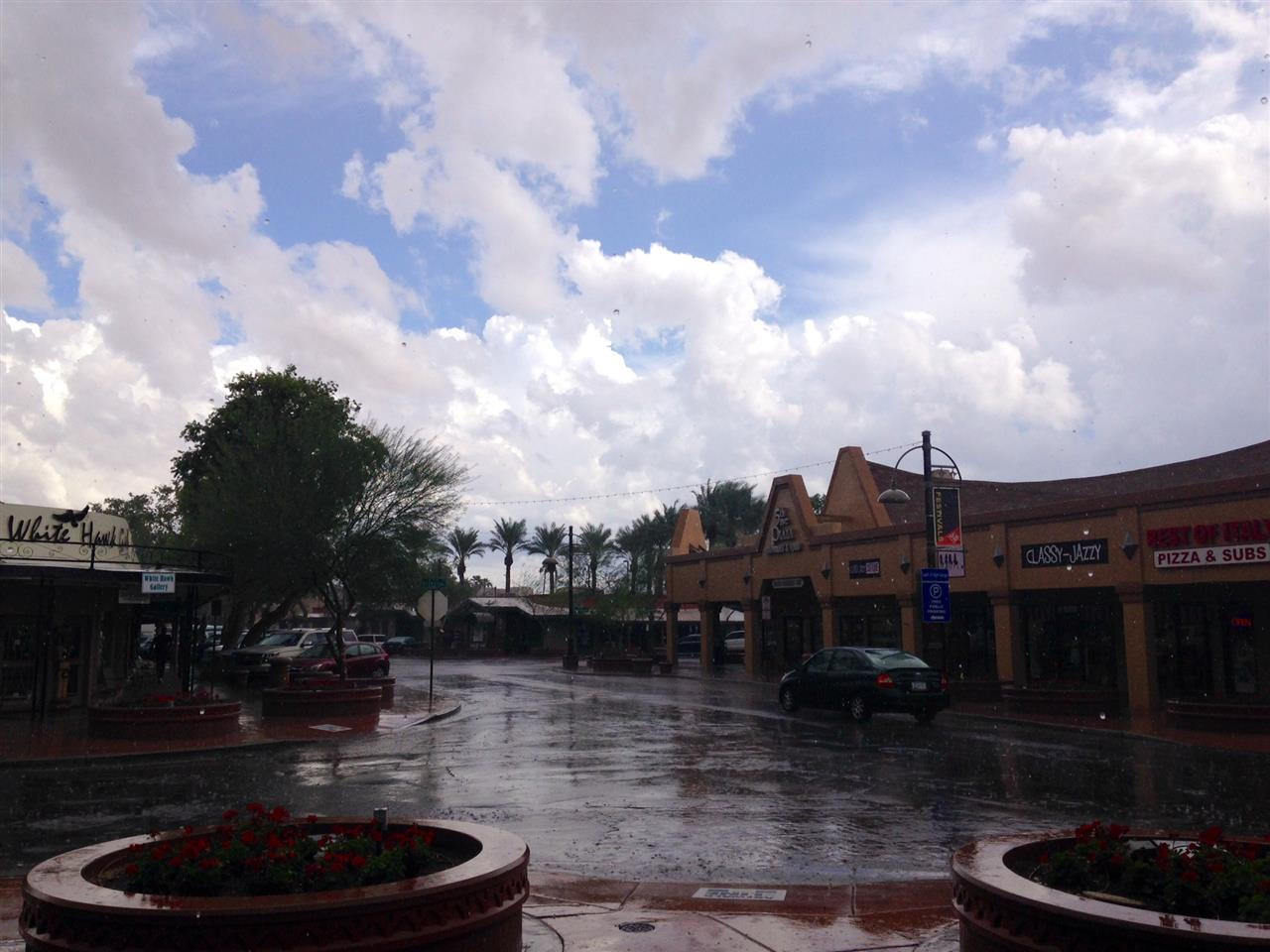 Blue skies, even when it rains #Scottsdale#Arizona
