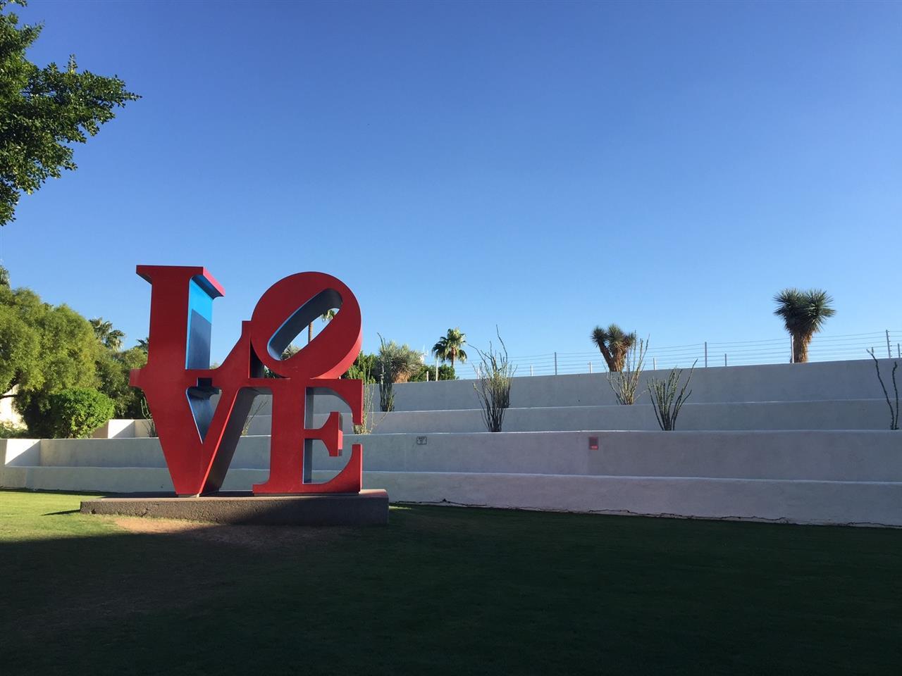 Scottsdale; Love Statue