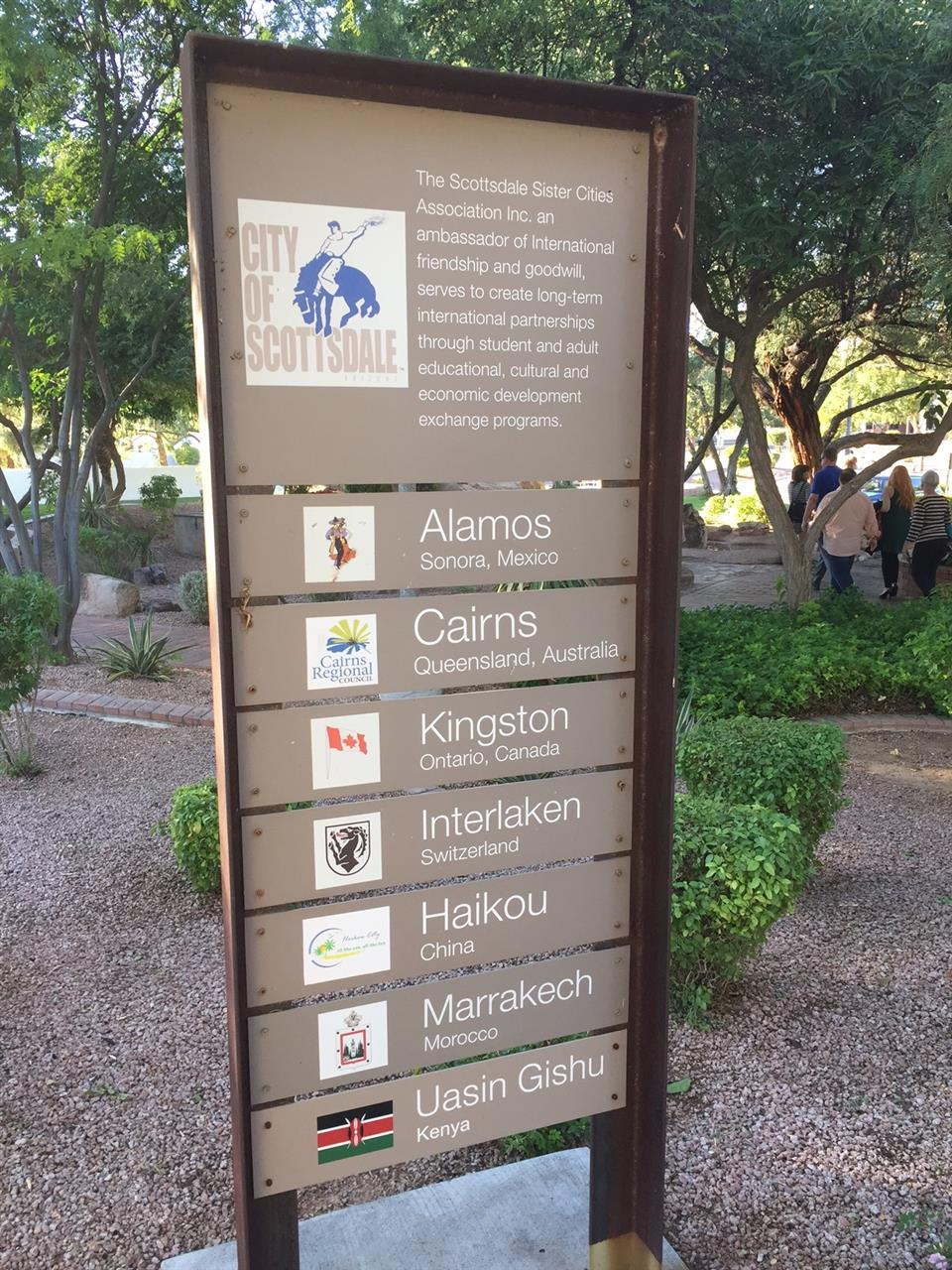 Scottsdale Sister Cities