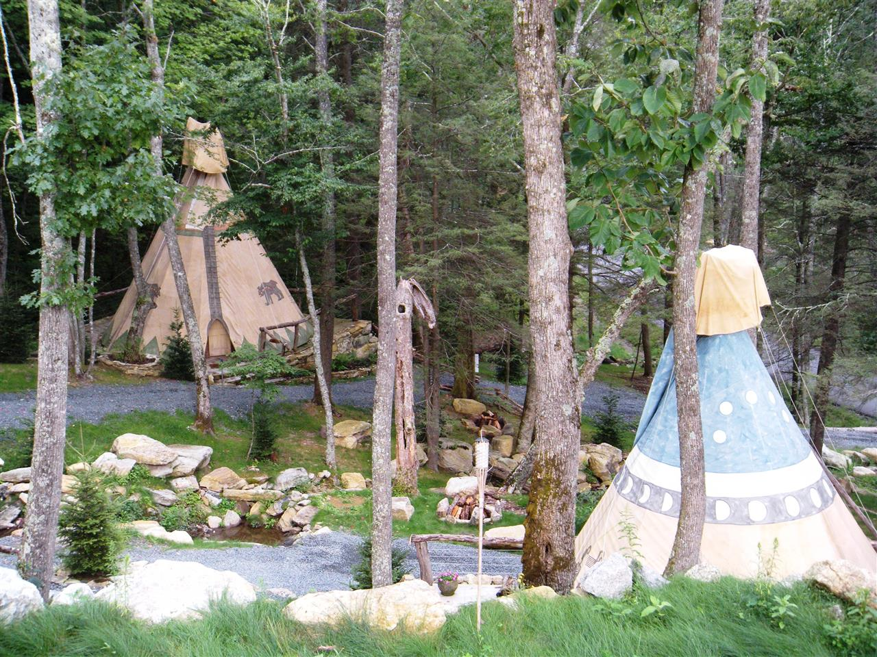 TeePee Village Blowing Rock NC #leadingrelocal