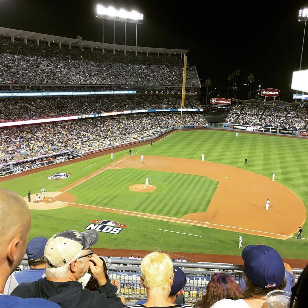 Dodger Game in Los Angeles, CA