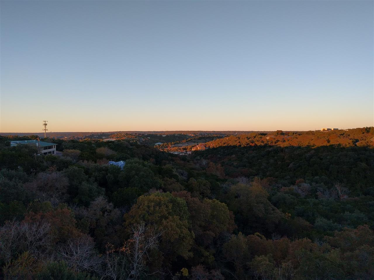 North-West Hills - Sunset lit up view of the lovely community  15 min from DT Austin