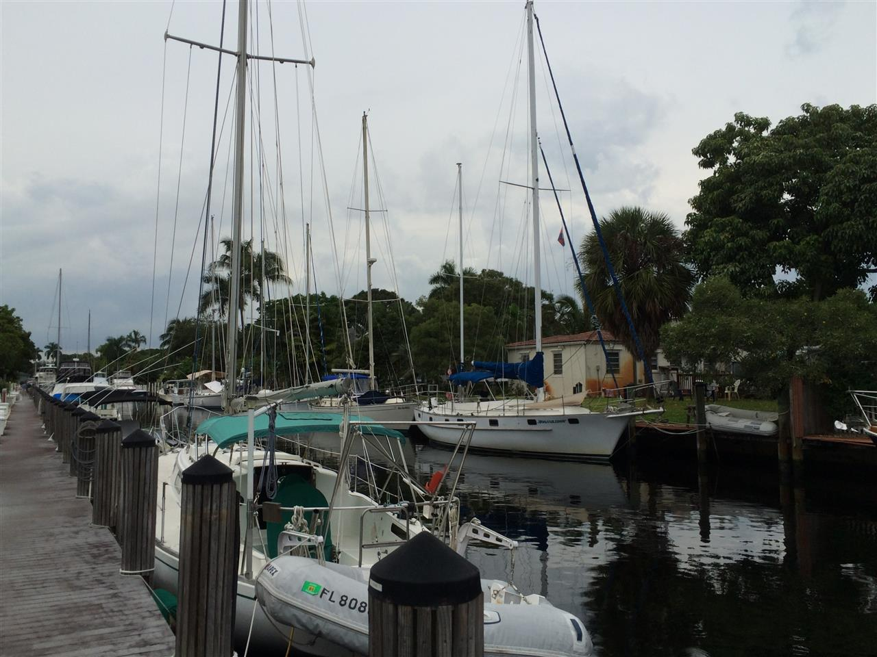 Tarpon River Fort Lauderdale off of Davie Blvd in the River Reach Community