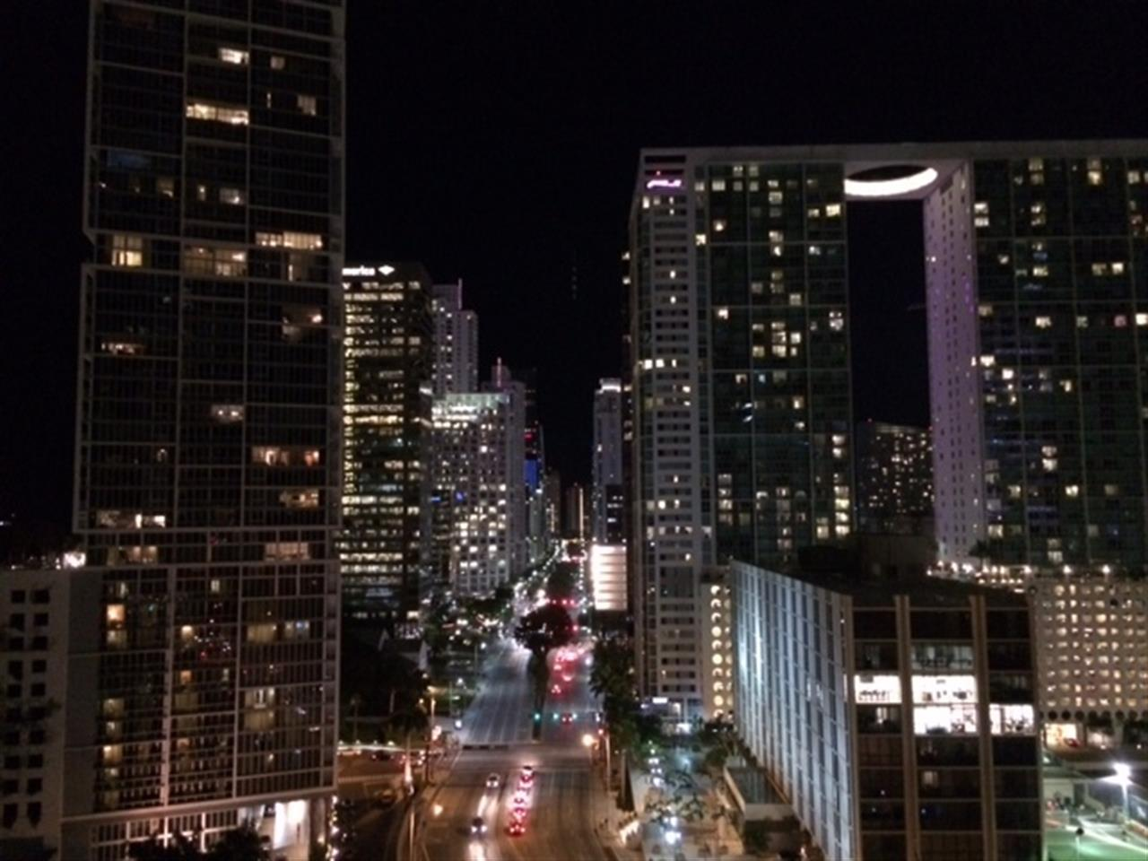 Downtown Miami from the EPIC Hotel