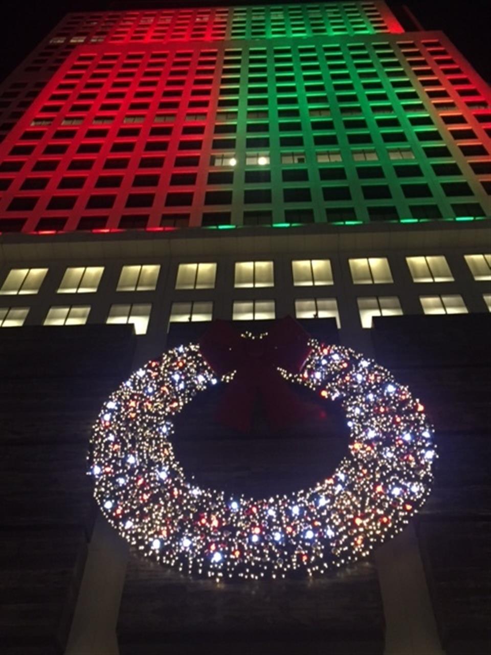 Christmas 2015 Downtown Miami