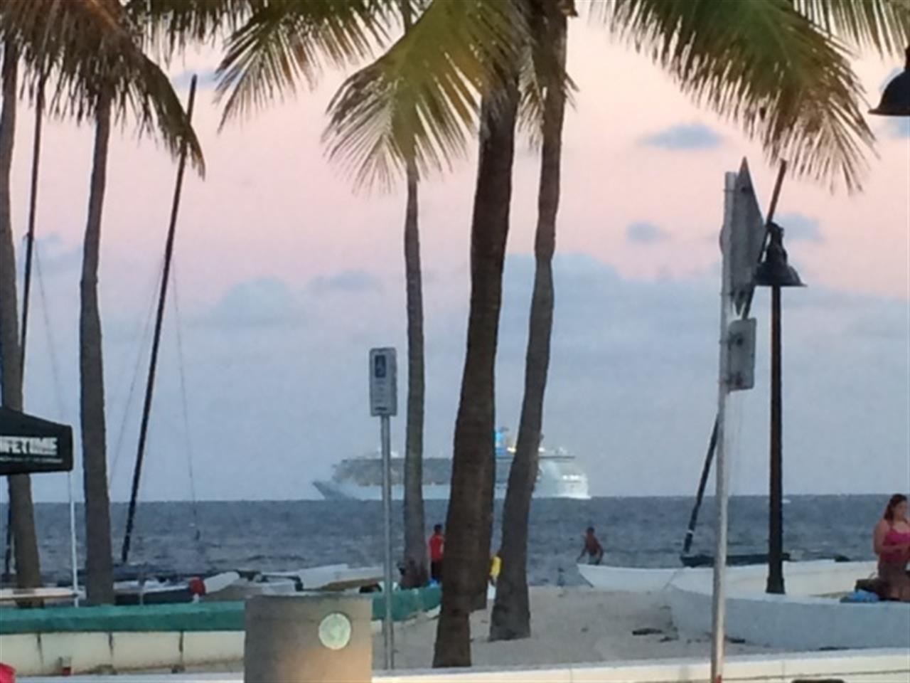 Fort Lauderdale Beach by Las Olas