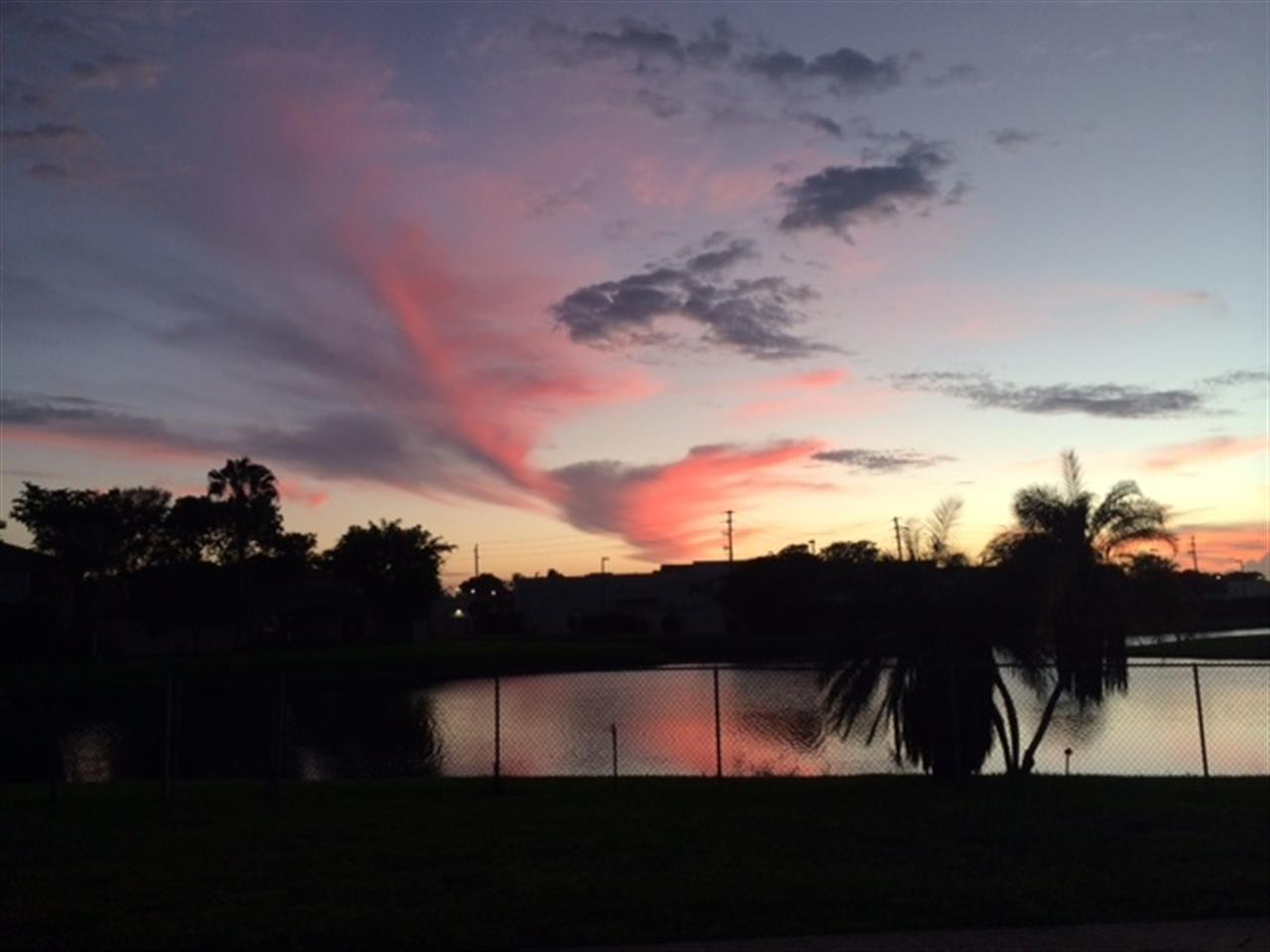 Sunset over Solero in Plantation
