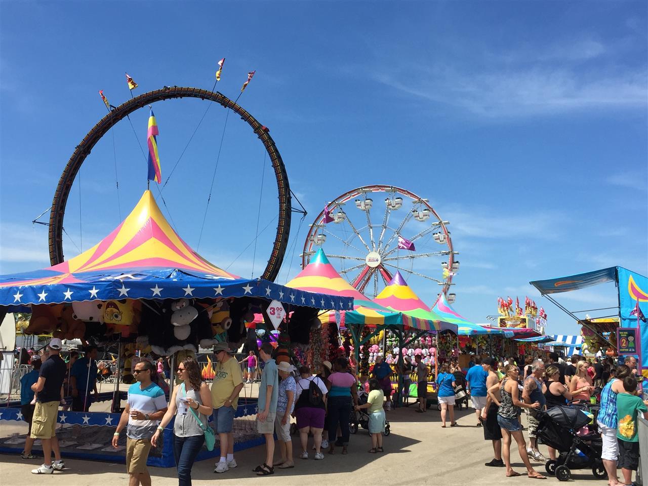 Waukesha County Fair.  Waukesha, WI