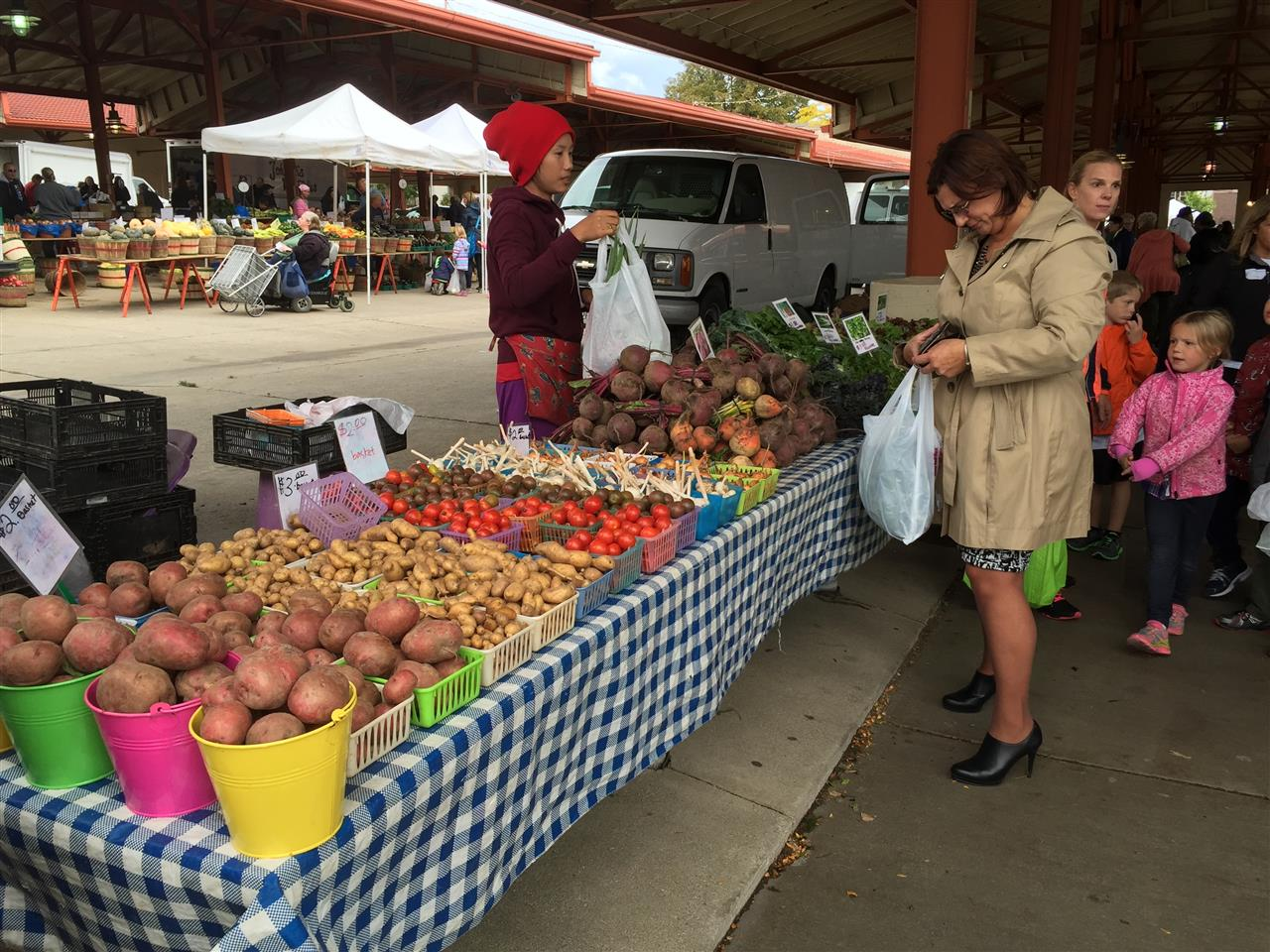 West Allis Farmer's Market has been going for over 100 years in West Allis, WI
