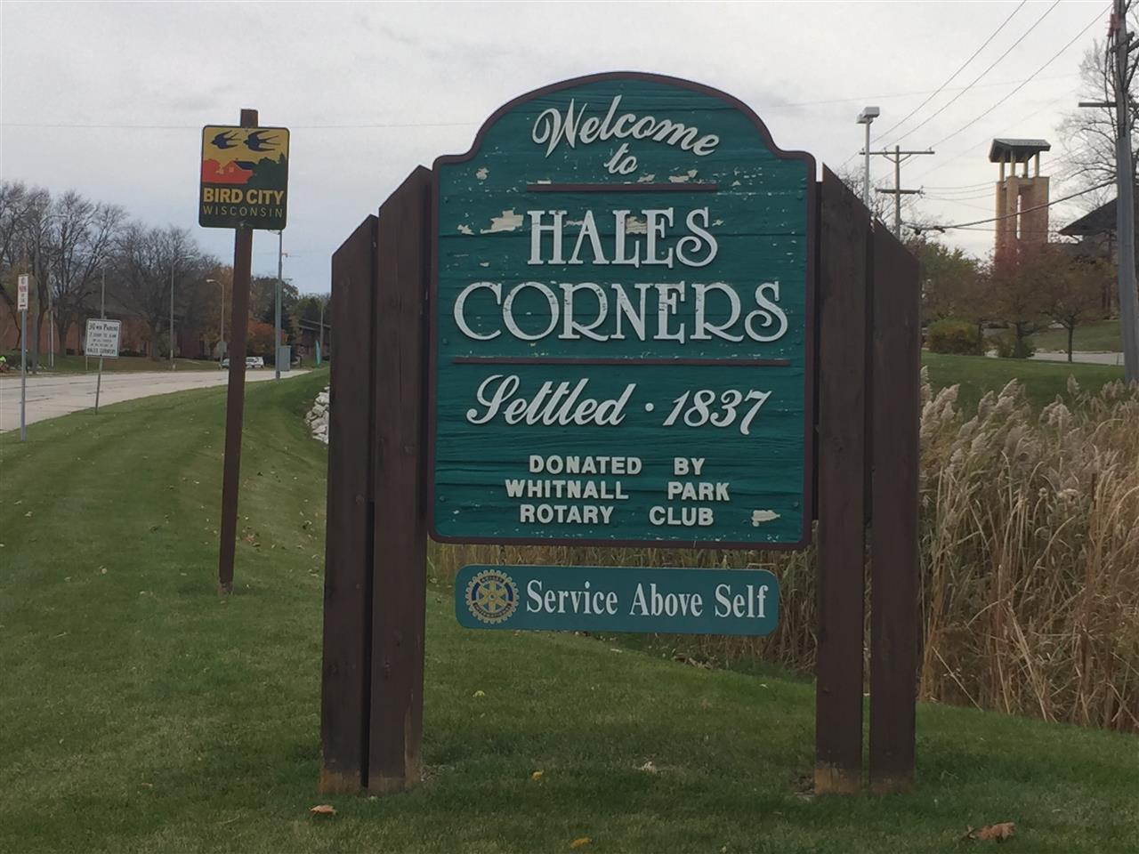 Village of Hales Corners, WI is known as the Bird City of WIsconsin