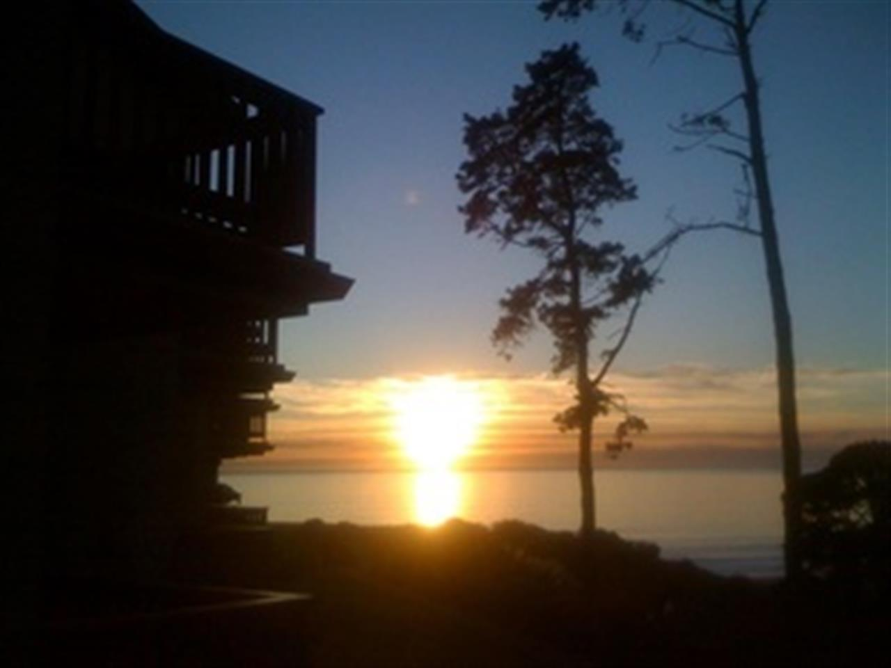 Sunset at Seascape Resort Aptos North Bluff