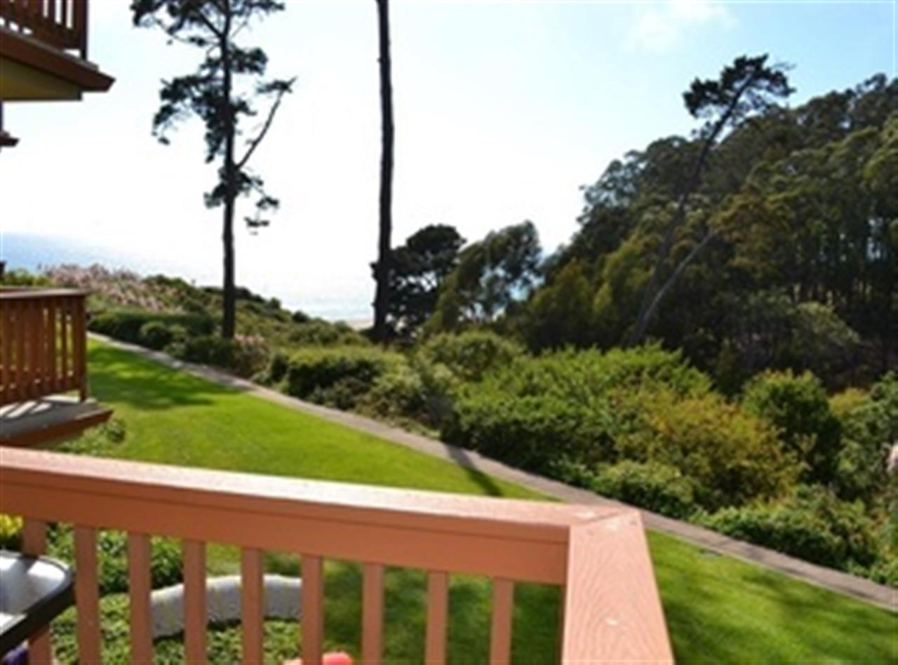 View from North Bluff unit at Seascape Resort Aptos