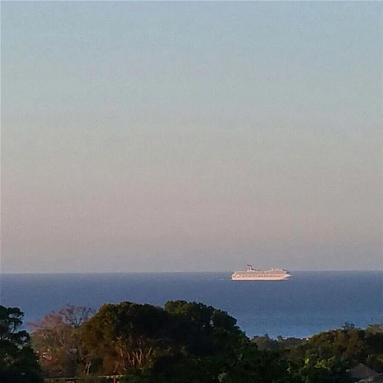 Cruise Ship visiting the Amber Cove in Puerto Plata. #DominicanRepublic