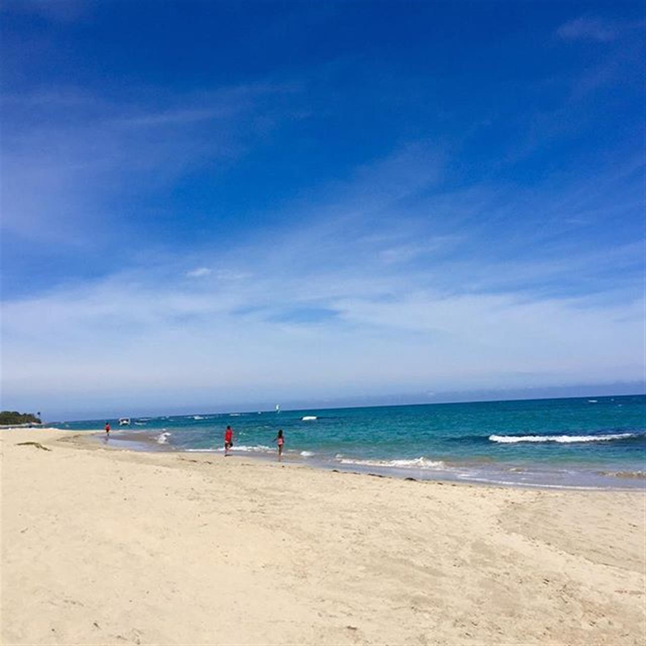 The beach in Costa Dorada in Puerto Plata. #beach #leadingrelocal #DominicanRepublic #sailing #surfing #sun #northcoast #realestate