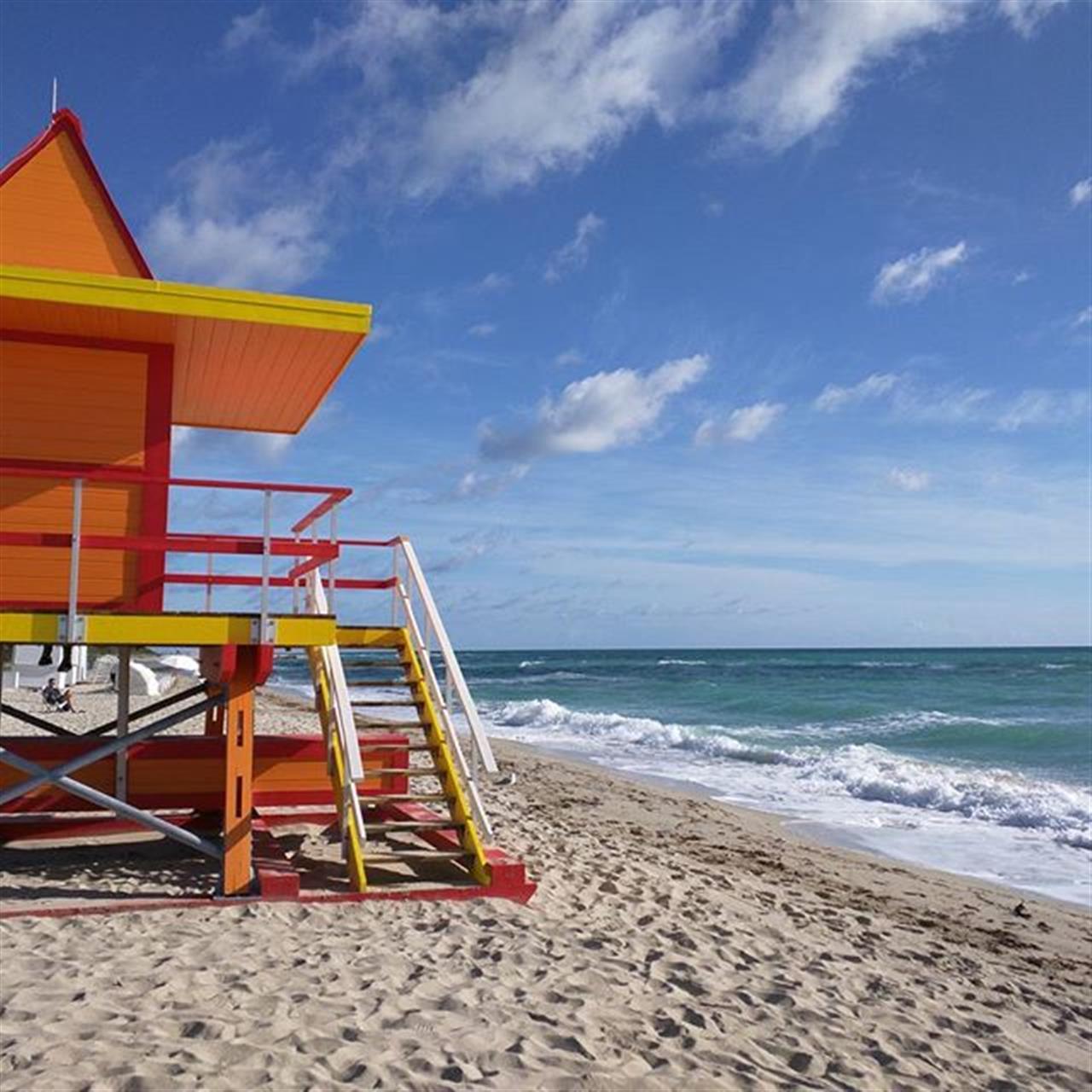 Good morning South Beach! #leadingre