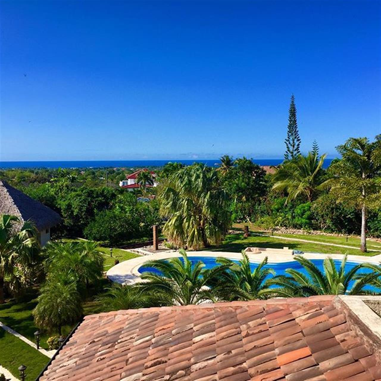Great ocean views from a private villa in the hills of Sosua - Cabarete. By the way this home is for sale. #DominicanRepublic #oceanviews #lifestyle #blueskys #beach #leadingrelocal #northcoast  www.selectcaribbean.com