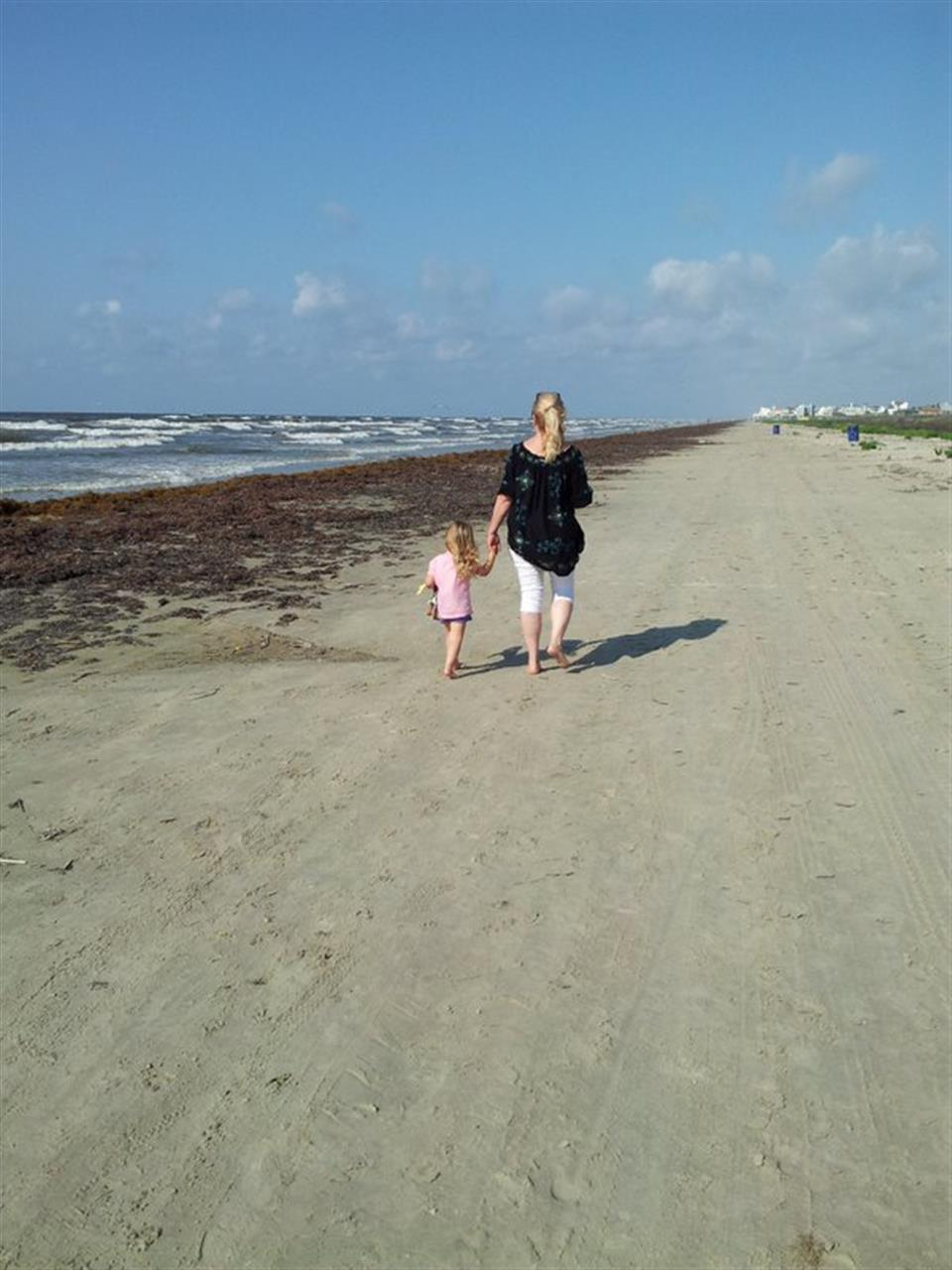 Beaches in Galveston just 45 minutes from Houston