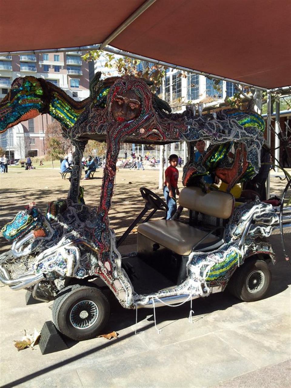 Art car parade Houston. #LeadingRELocal
