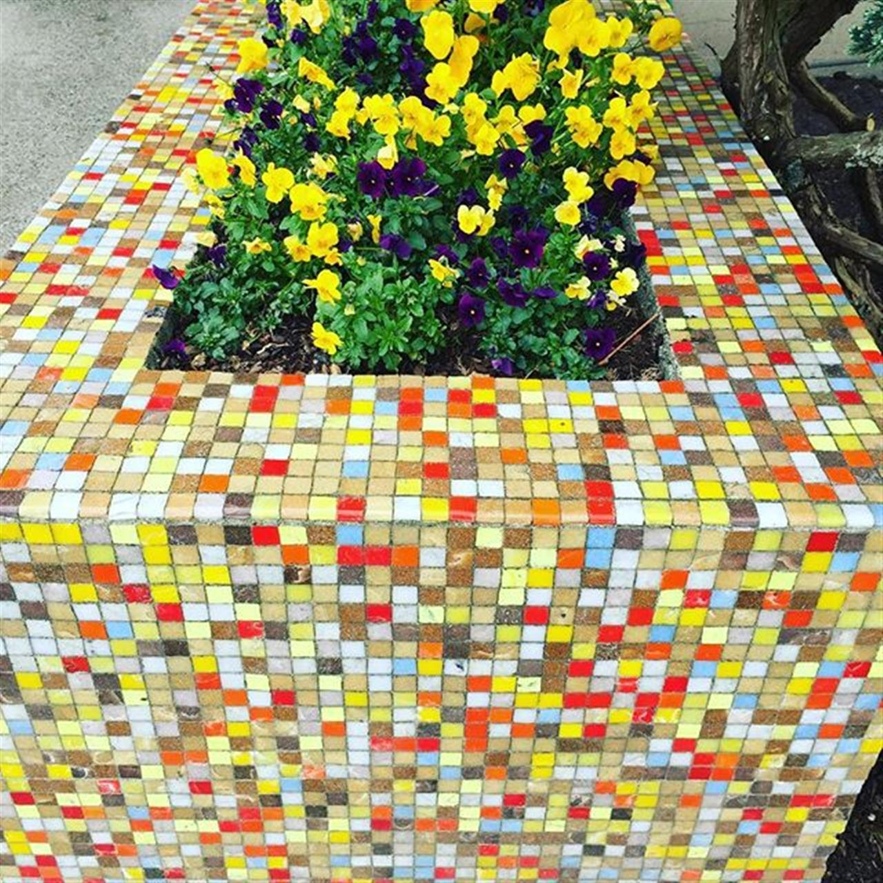 #oakbay #spring #leadingrelocal #realtor #tiles #posies