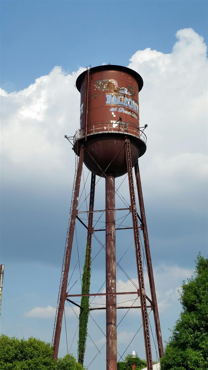 The Franklin Factory tower -