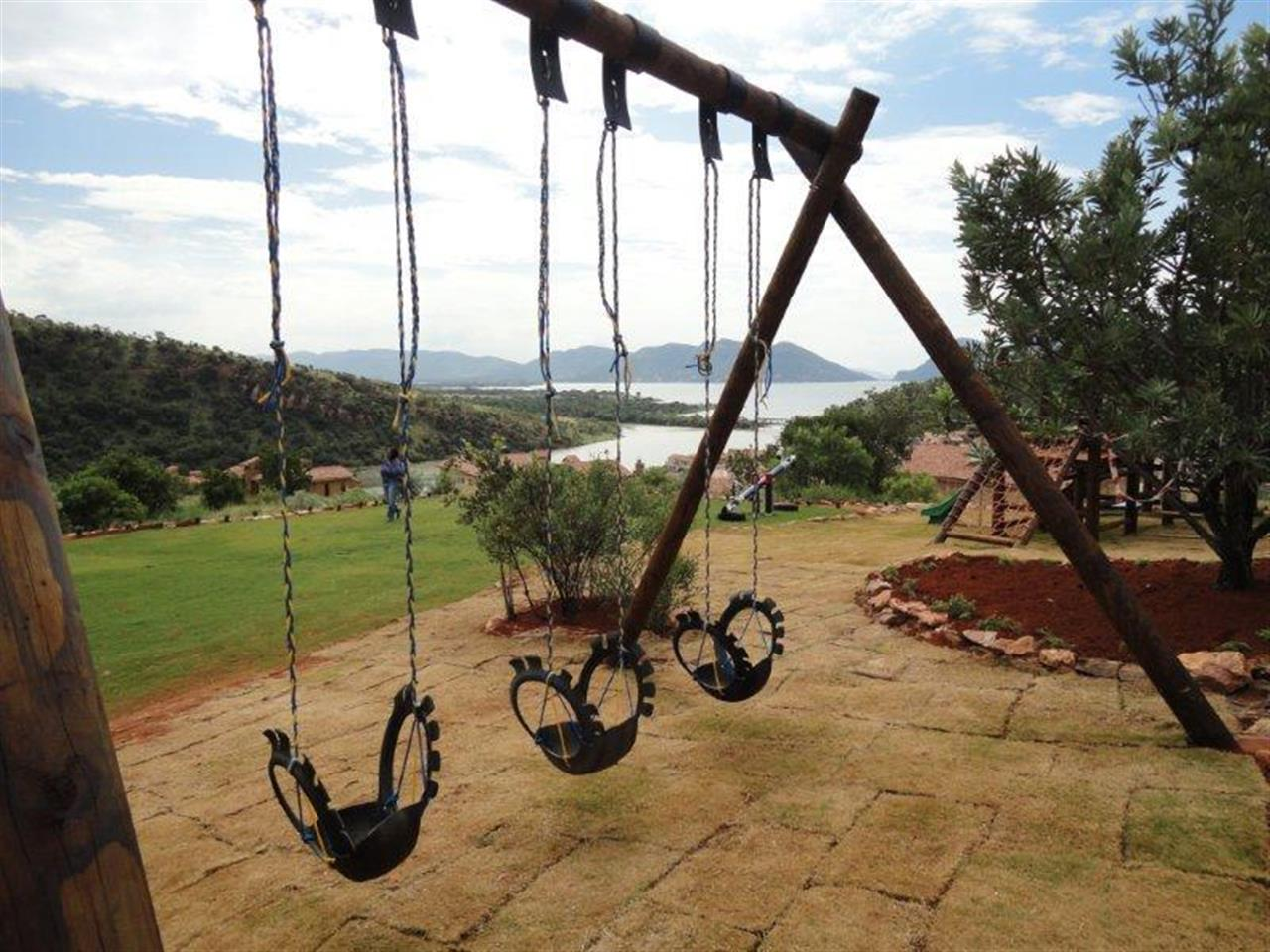 Playground in Estate d' Afrique, Hartbeespoort Dam, South Africa