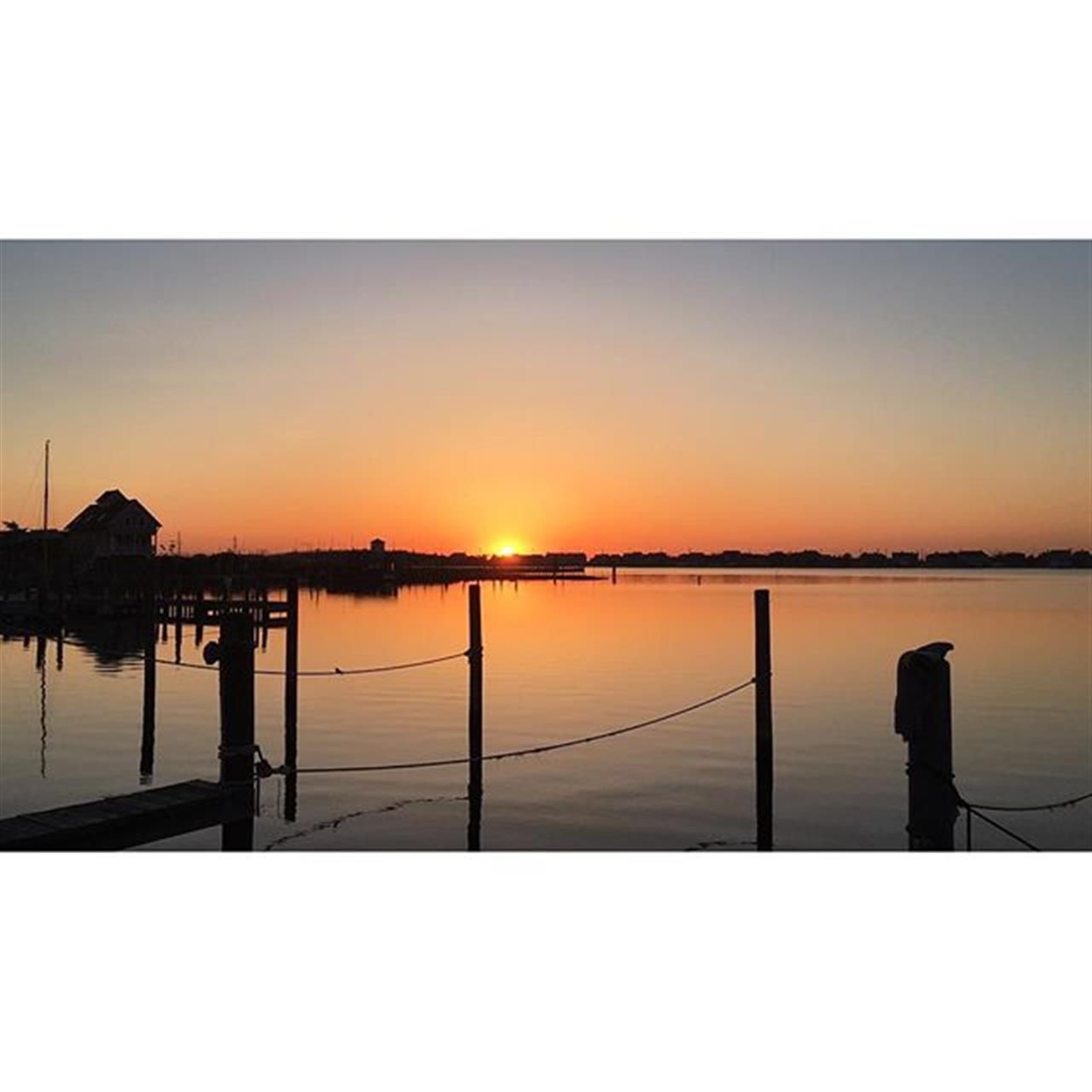 Sunrise over Barnegat Bay, New Jersey