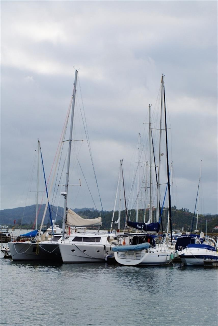 The boats on the water at the Knysna Waterfront. Always a stunning sight.