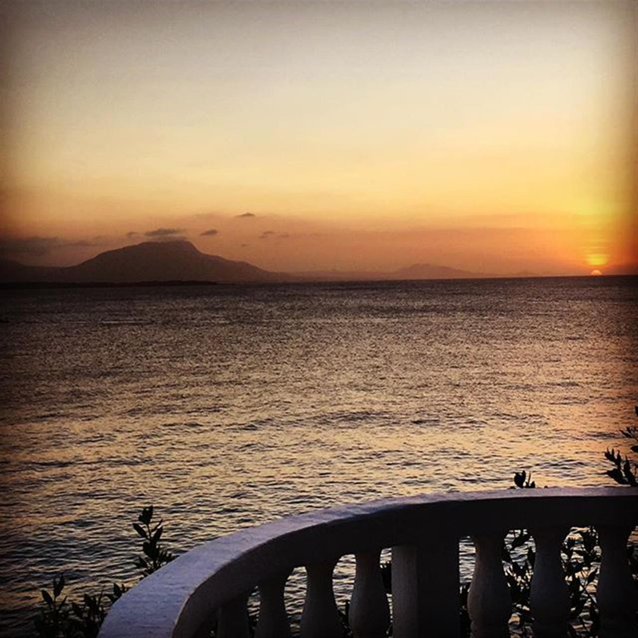 Sunset Delight, Sosua Bay ????#Sosua #dominicanrepublic #sunset #cocktailhour