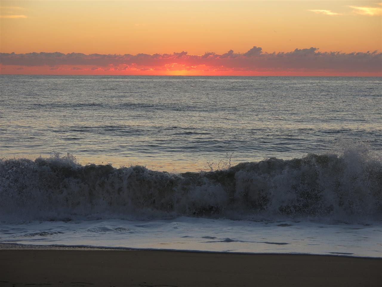Rehoboth Beach Delaware  sun burst
