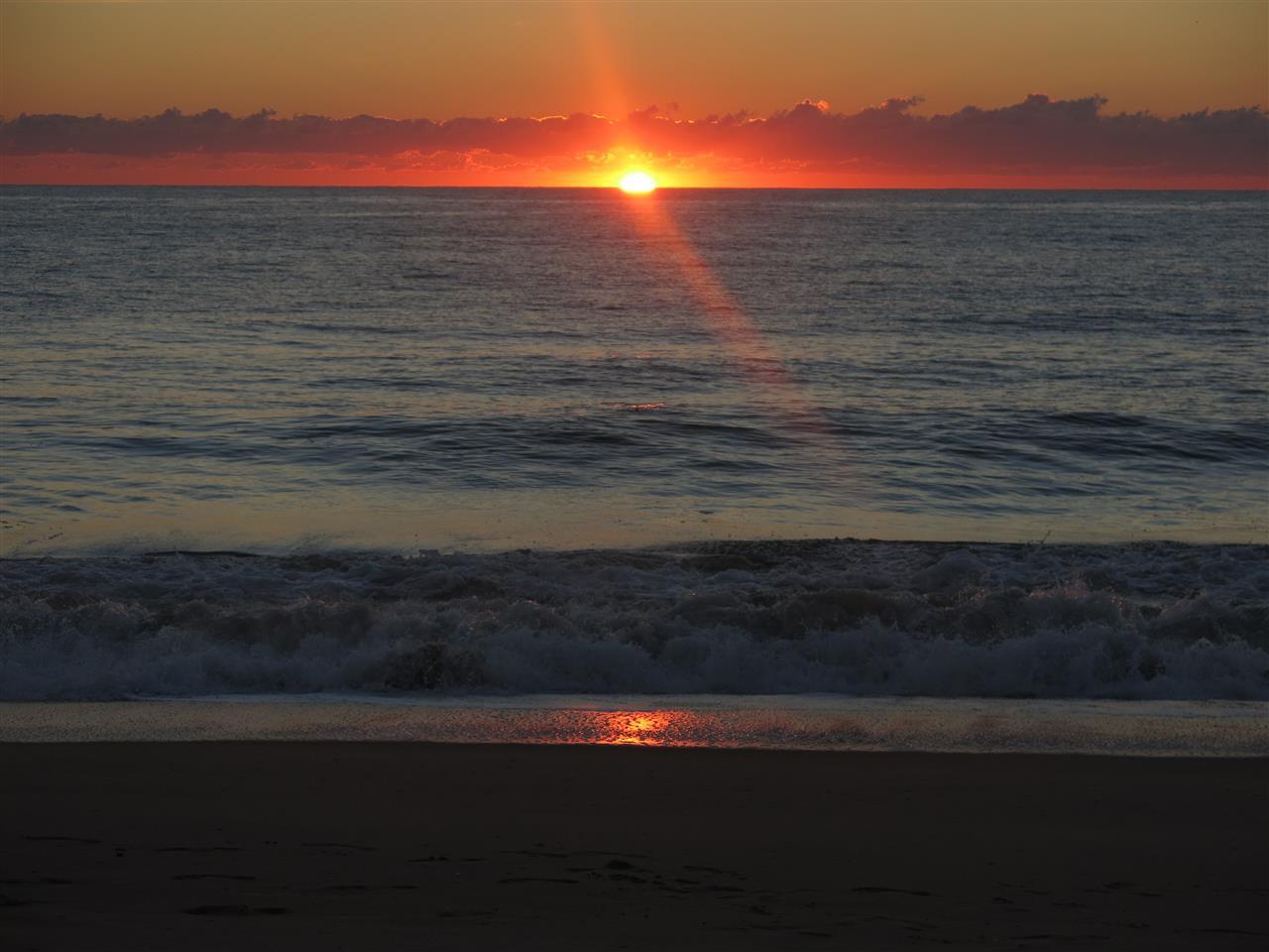 Rehoboth Beach Delaware  - sunrise