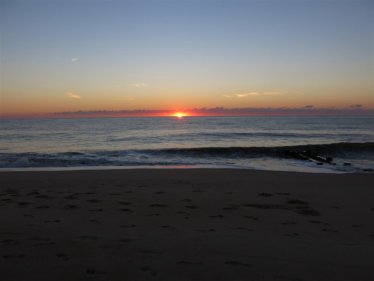 Rehoboth Beach Delaware  - first light