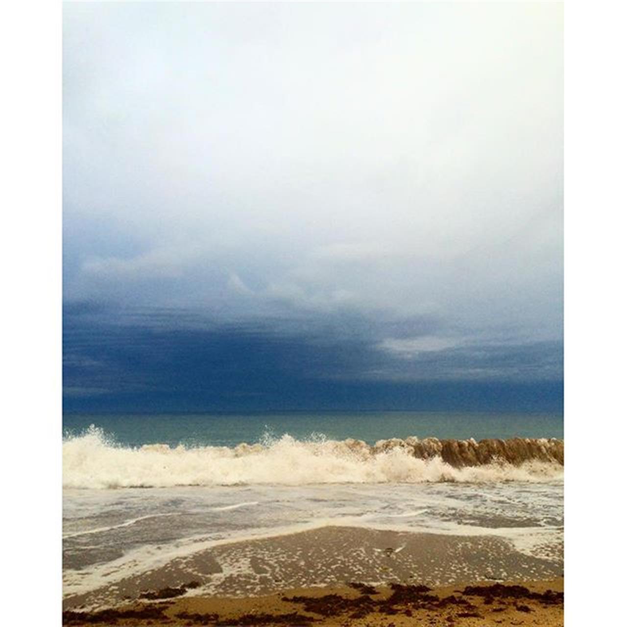 I love storms #sea #ocean #waves #nature #adventure #outdoors  #rhodeisland
