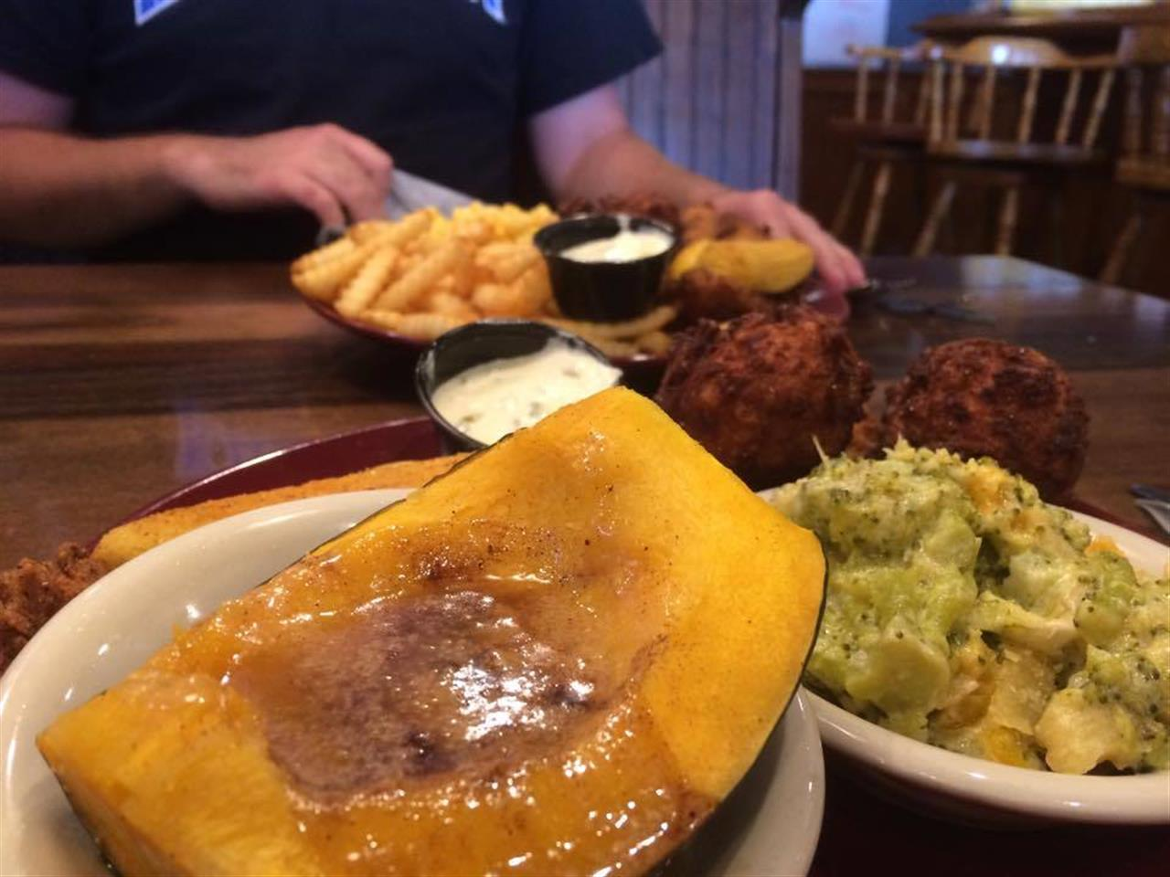 amazing southern comfort food at Ramsey's - a Lexington dining tradition