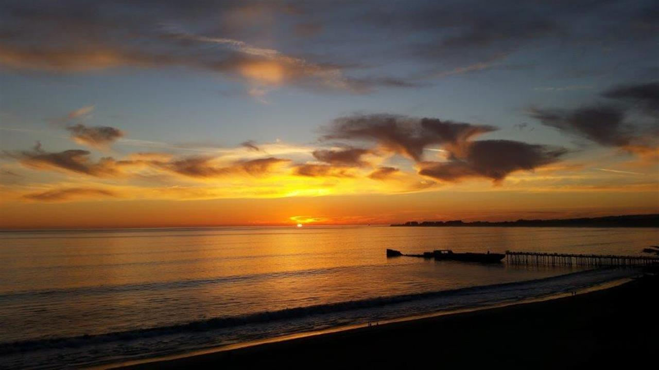 Seacliff Sunset, Santa Cruz CA