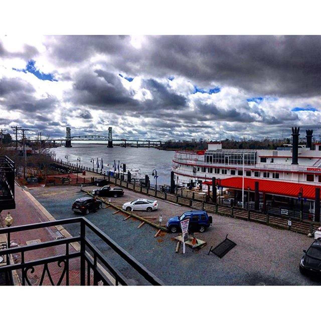 The views today were nothing short of amazing. ? #wilmington #downtownwilmington #ilm