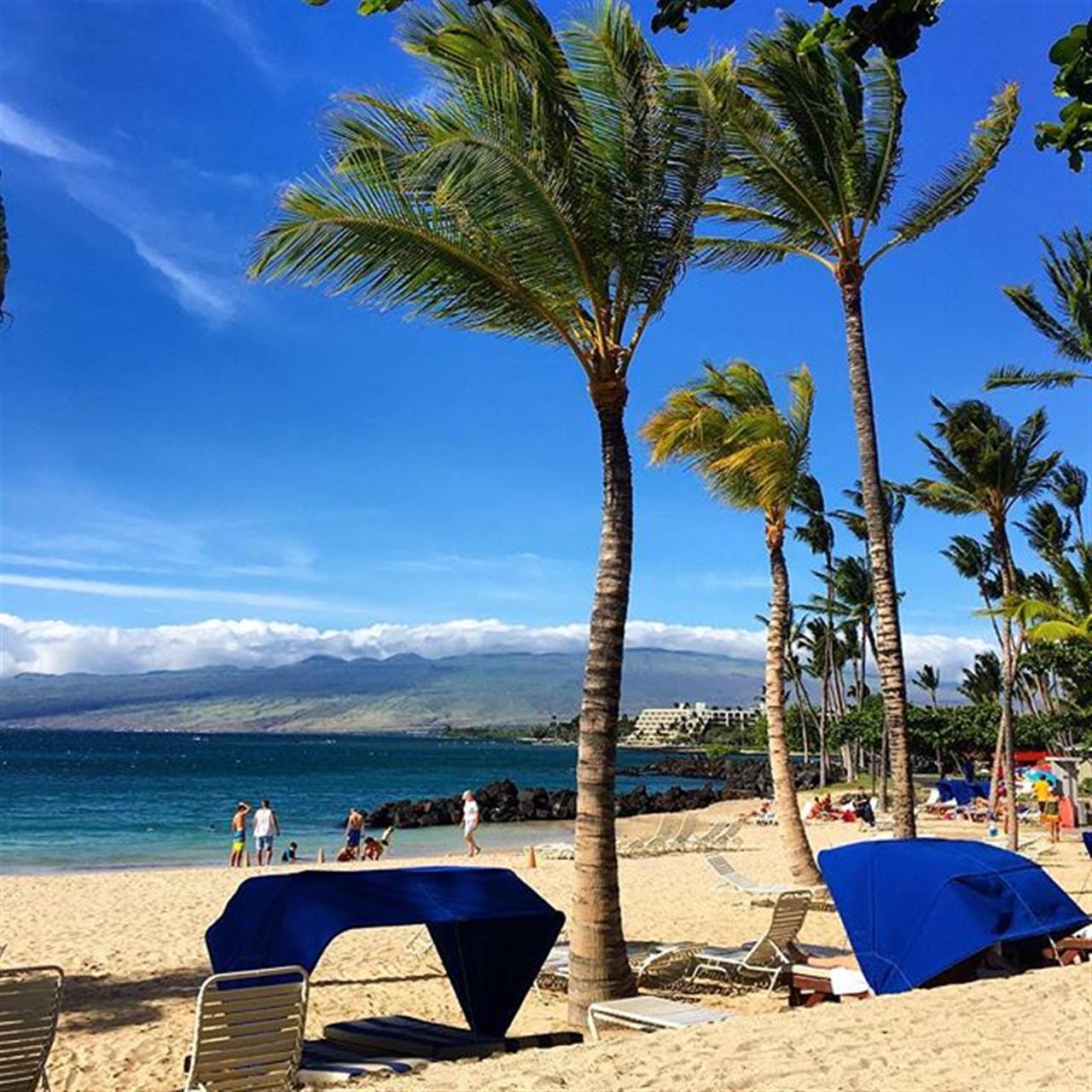 #beachclub fun at the #maunalani! Hawaii Life at its finest! ???