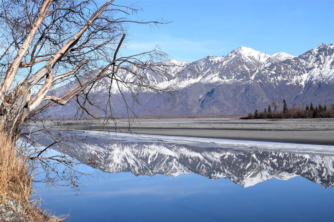 Reflections of splendour, Palmer, Alaska