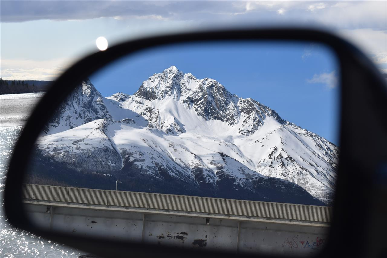 Always watch your rearview mirror! Palmer, Alaska