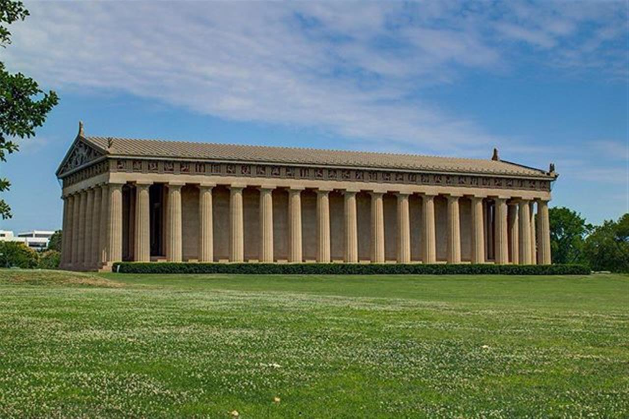 Nashville is the only place with a full-scale replica of the original Parthenon in Athens