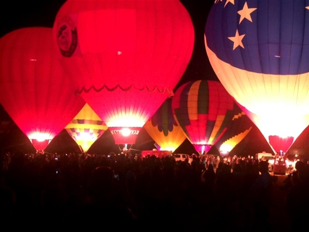 Balloon Fest in nearby Fuquay Varina, NC
