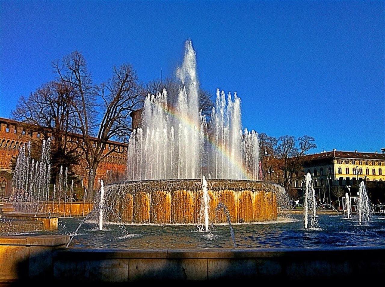#PiazzaCastello #Milano