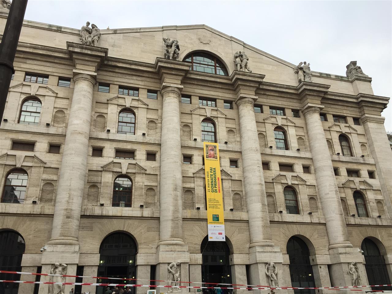 #PalazzoMezzanotte, Headquarter of the Stock Exchange in #Milano