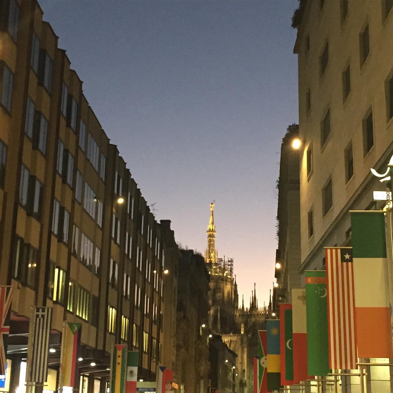 Corso Vittorio Emanuele #shopping street #Milano